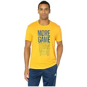adidas Men's Graphic T-Shirt More Game Yellow L